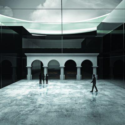 Konkursni rad: Idejno rešenje nove zgrade Ansambla narodnih igara i pesama Srbije Kolo